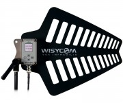 Wisycom Introduces New Wideband Antenna with Integrated Tunable RF Filters at NAB 2018