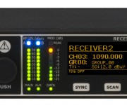 Wisycom Showcases MRK980 Ultra-Wideband  True Diversity Receiver at NAB 2019