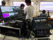 World Surf League Japan Streams Surfings Dream Tour Using ATEM 1 M E Production Studio 4K