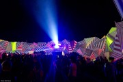 XL Video Creates Live Mapped Projection for Shangri-La Heaven at Glastonbury 2015