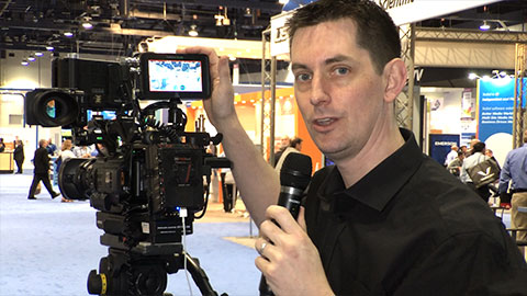 Kit Review NAB 2014 Interview Shooting