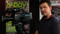 The Panasonic HPX600 with Richard Payne from Holdan