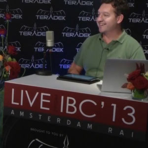Richard Payne talks about the highlights of Day 1 at IBC