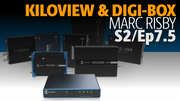 Kiloview Video Converter Decoder Converter Live Streaming with Digi-Box