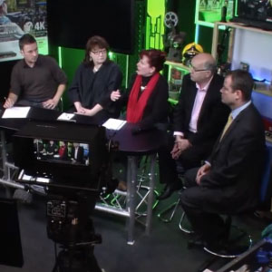 Local TV debate at BVE North 2012