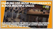 Enabling live music performances across multiple spaces using NDI & Dante